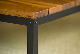 Steel+Wood Table
